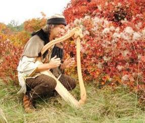 liutaio medioevale a san zenone degli ezzelini - arpa