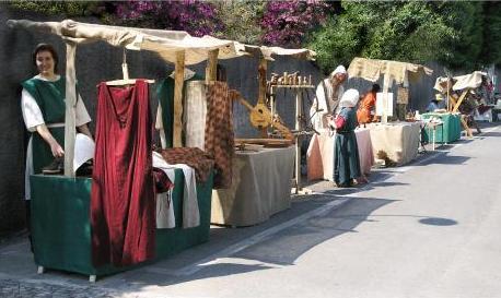 liutaio medioevale a san zenone degli ezzelini - sartoria