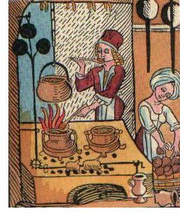 nellaterradiezzelino 2016 san zenone degli ezzelini - cucina medioevale
