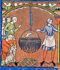 nellaterradiezzelino 2016 san zenone degli ezzelini - pentola cucina medioevale