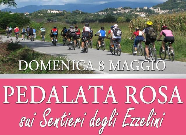 pedalata rosa sui sentieri degli ezzelini 8 maggio 2016 discovering veneto