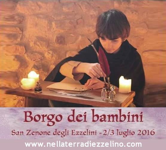 Borgo dei bambini - con testo foto scrittura - nella terra di ezzelino 2016 san zenone degli ezzelini.JPG