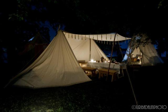 Mansio Templi Parmensis - campo notturno