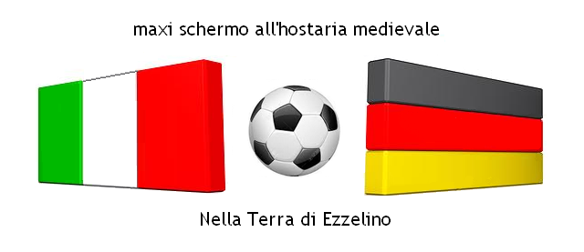 Italia-Germania partita calcio europei - terra di ezzelino 2016 san zenone degli ezzelini - sito web