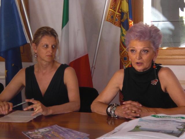 Maria Antonia Martinello e Stefania Ziliotto San Zenone degli Ezzelini.JPG